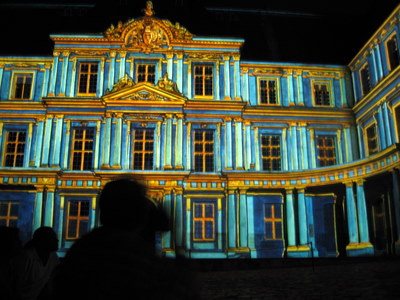 Blois Castle Light Show
