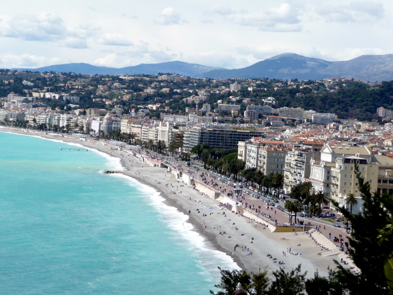 Nice on the Cote d Azur