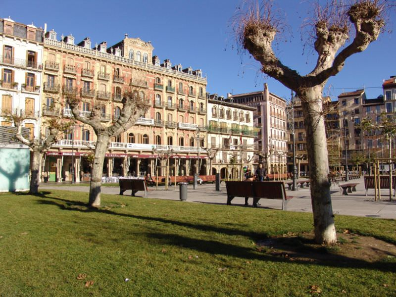Pamplona old square