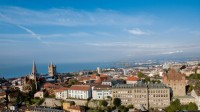 Lausanne from above