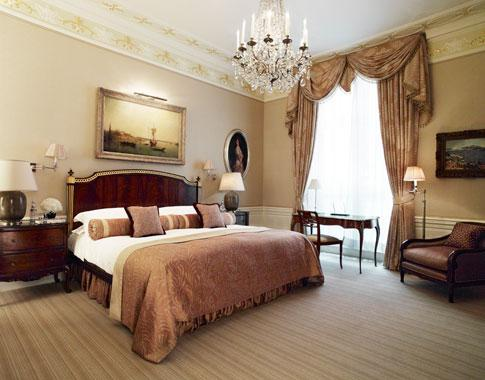 An elegant bedroom at The Connaught