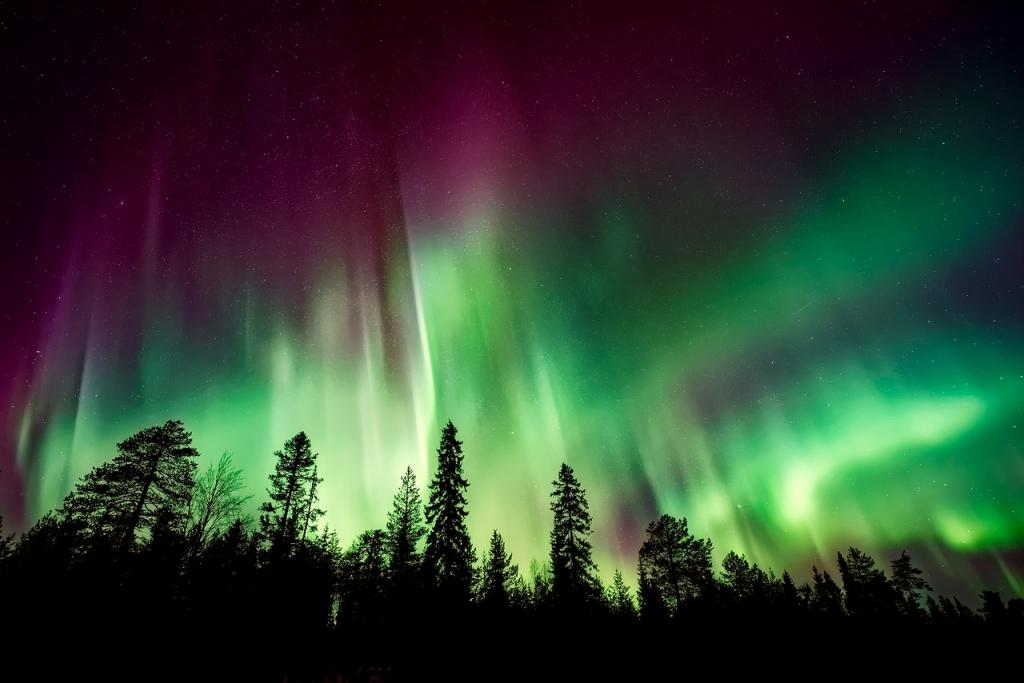 Best time to travel to Europe - Northern lights in Europe in Winter