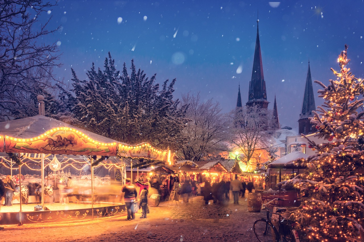 Which Country Hosts Striezelmarkt A Christmas Market Thats Been Held Since 1434.Best German Christmas Markets Germany In Winter