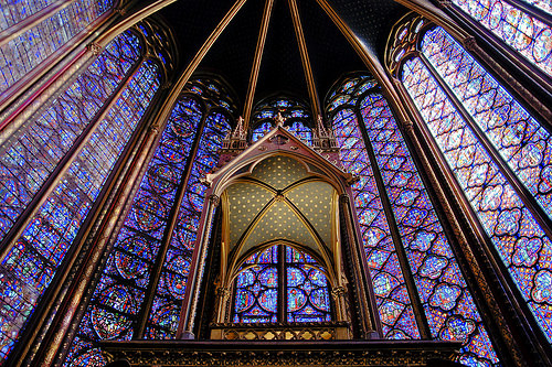 Ste. Chapelle in Paris
