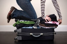 DOn't overstuff your luggage