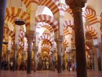 The Great Mosque of Cordoba in Andalucia