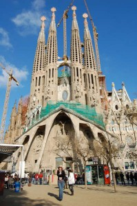 The Sagrada Familia in Barcelona