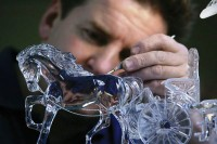 Waterford Crystal sculptor