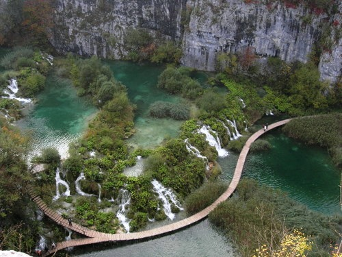 Natural beauty in Plitvice Croatia