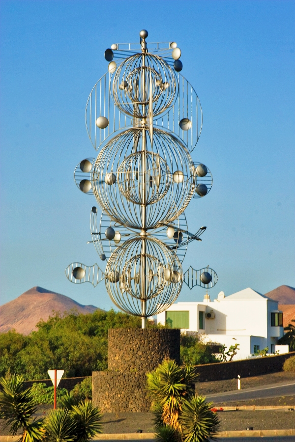 Wind toy at Tahiche in Lanzarote