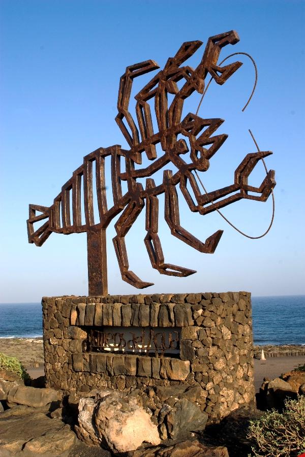 symbol for the Jameos del Agua by Cesar Manrique