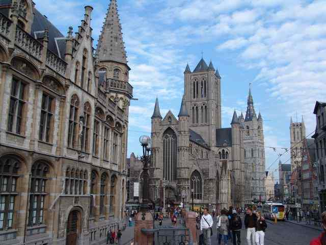 Historical center of Ghent, Belgium