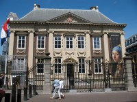 Museum in Classic architecture large house in france called Mauritshaus