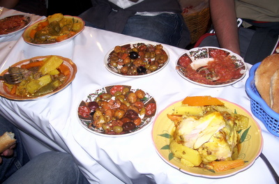Fantastic Marrakech food