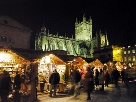 Christmas Market in Bath