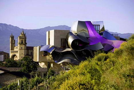 Gehry's Marques de Riscal Hotel