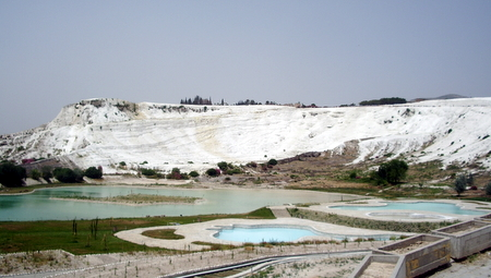 The white beauty of Pamukkale