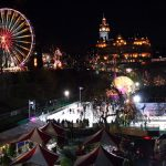 Winter Ice Skating in Glasgow and Edinburgh, Scotland