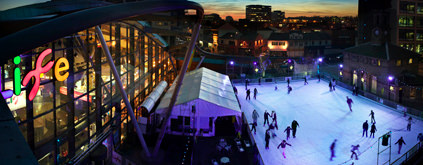 skating at life Newcastle Upon Tyne