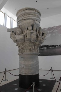 Top of Ancient Pillar in Brindisi