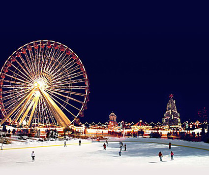 London's Winter Wonderland Ferris Wheel