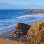 Cornwall, England's Bedruthan Steps Hotel