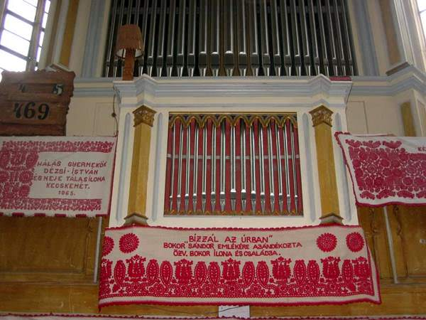 Huedin Church organ