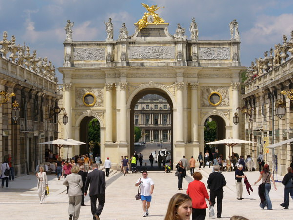 Place Stanislaus in Nancy - north side