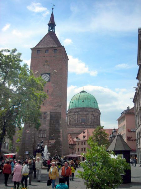 Historic downtown Nurnberg