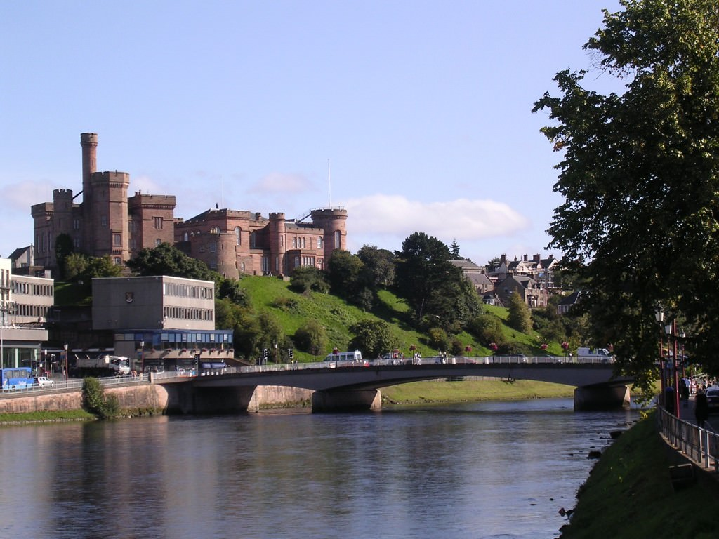 Inverness Castle and the River Ness