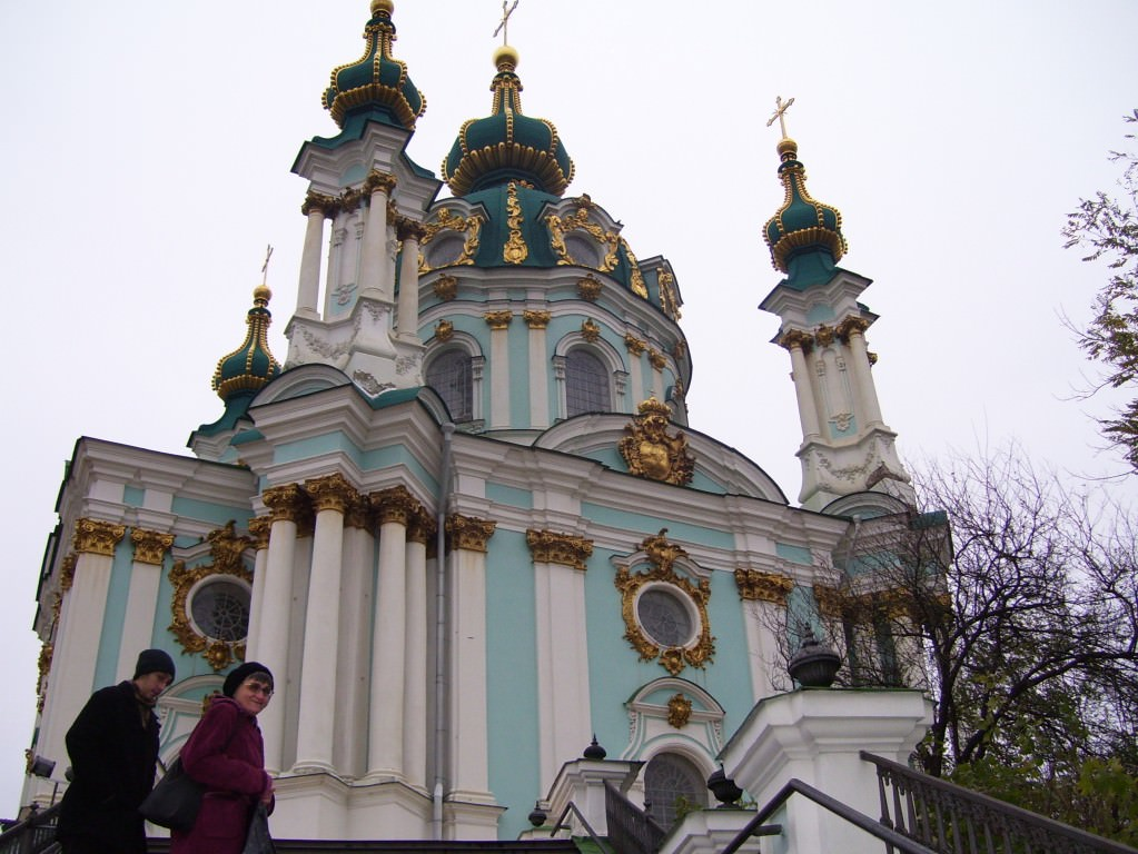 St Andrews Church, Kiev