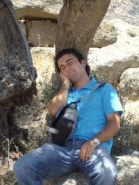 Halil, our guide and modern day Endymion