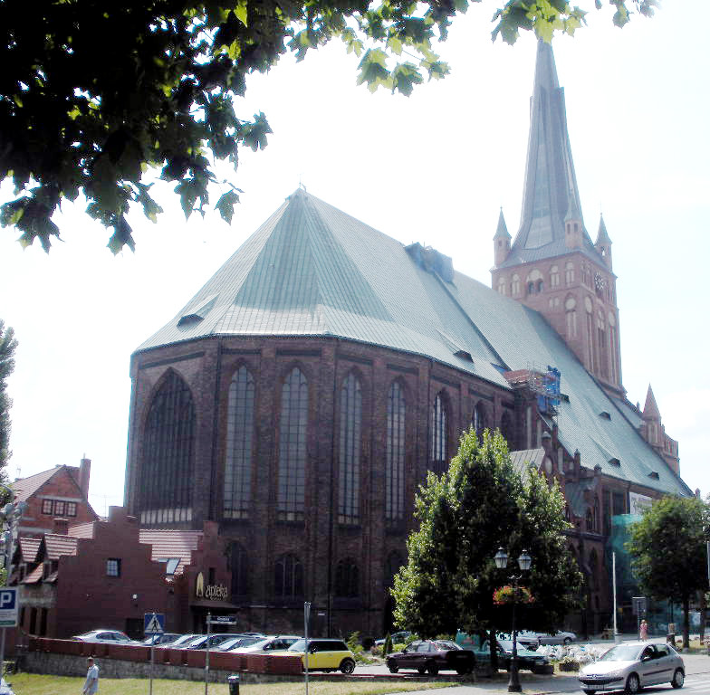 St. James Archcathedral Basilica in Sczcecin