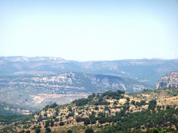 The view from Morella