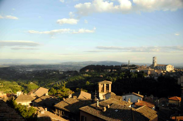 Perugia from Above