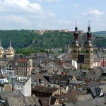 Koblenz, Germany: Where the Rhine and Mosel Rivers Meet
