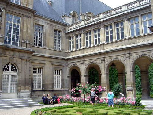 Musee Carnavelet in Paris's 3rd Arrondissement