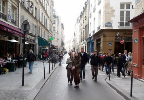 Shopping in eclectic le Marais in Paris's 3rd Arrondissement