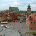 The Historic sights of Warsaw, Poland