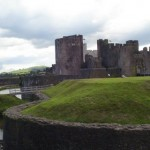 The Green Lady of Caerphilly Castle