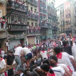 Run with the Bulls in Pamplona, Spain
