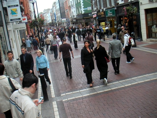 Be sure to visit Grafton Street