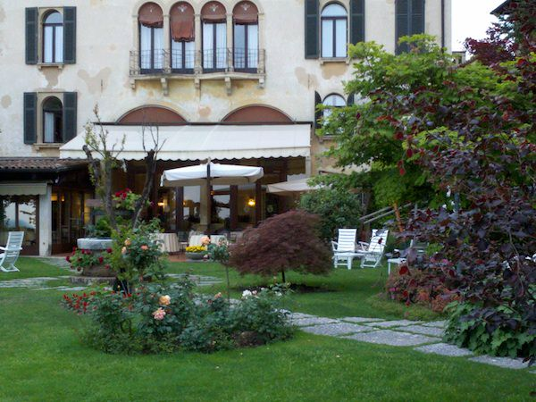 beautiful weather in Italy at the Asolo Hotel Villa Cipriani