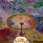 Up Close Picture of the Week: Chagall Ceiling at the Opera Garnier in Paris