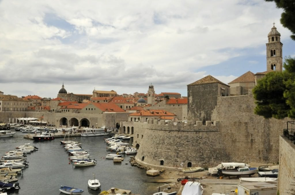 View of Dubrovnik's City Walls
