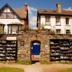 Browsing for Books in Hay-on-Wye, Wales