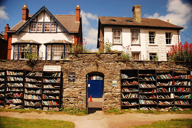 Image result for honesty bookshop hay-on-wye wales
