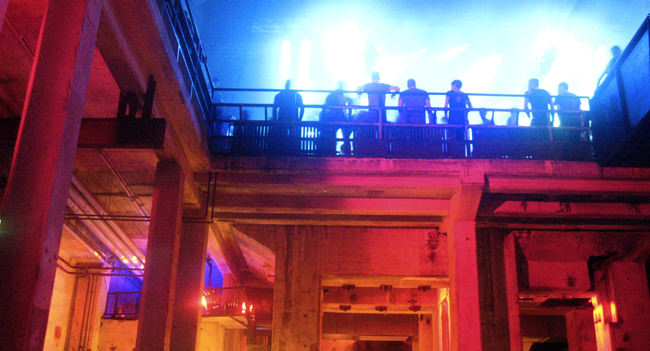 Berghain nightclub in Berlin