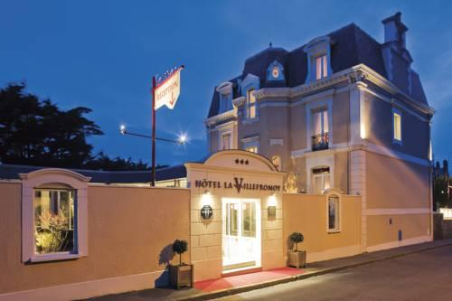 Saint Malo Hotel - La Villefromoy - St Malo Hotel with Charm