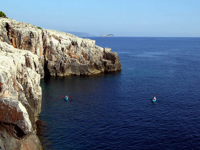 Lokrum Cliffs - Photo by Pudelek